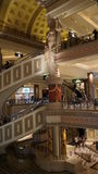 Forum Shops in Las Vegas. In Las Vegas, Nevada. The venue includes more than 160 shops and haute couture boutiques, as well as 11 gourmet restaurants royalty free stock image