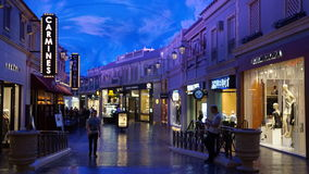 Forum Shops in Las Vegas Royalty Free Stock Photography