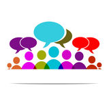 Forum sociale Immagine Stock