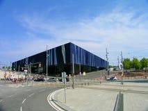 Forum som bygger Museu Blau de les Ciències Naturals royaltyfri fotografi