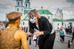 Forum of street theaters Stock Photography