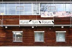 forum Stuttgart Fotografia Stock