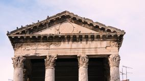 The Forum and Temple of Augustus in Pula .mp4