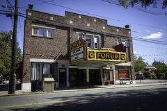 Forum Theater Arts Center, Metuchen, New Jersey Royalty Free Stock Photography