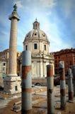 Forum of Traianus Stock Photo