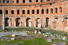 Forum of Trajan in Rome Royalty Free Stock Photo