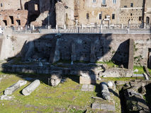 Forum of Trajan in Rome Stock Images