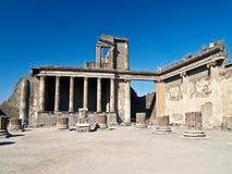 Forum von Pompeji, Italien Stockfotografie