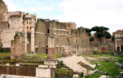 Forum von Rom - Italien stockbilder