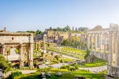 forum Włoch romana Rzymu Obrazy Stock