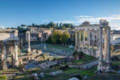 forum Włoch romana Rzymu Obraz Stock