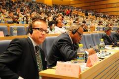 forum zawody międzynarodowe konwersatorium Zdjęcie Royalty Free