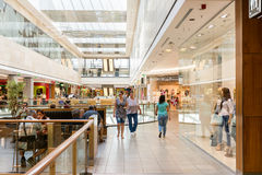 ForumDebrecen shoppinggalleria Royaltyfria Bilder