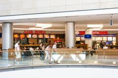 ForumDebrecen shoppinggalleria Royaltyfria Foton