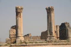Forumet av Volubilis Royaltyfri Foto