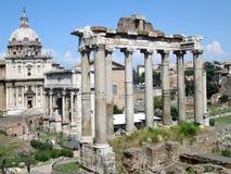 Forumet Rome Italien Royaltyfri Bild