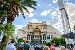 Forumet shoppar på Caesars Palace i Las Vegas Arkivbild