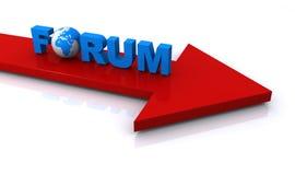 Forumillustration vektor abbildung