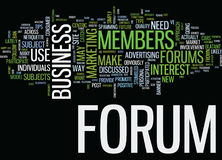 Forums A Consumer Centric Approach Text Background  Word Cloud Concept. FORUMS A CONSUMER CENTRIC APPROACH Text Background Word Cloud Concept Stock Photo