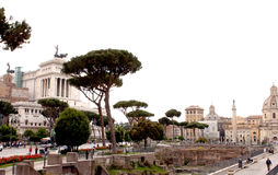 Forums of Rome - Italy Royalty Free Stock Photo