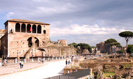 Forums of Rome - Italy Royalty Free Stock Photography