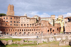 Forums of Rome - Italy Stock Image