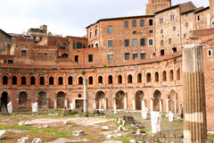 Forums of Rome - Italy Stock Images