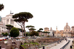 Forums of Rome - Italy Stock Photos