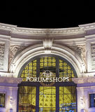 The forums shopy by night at Royalty Free Stock Photo