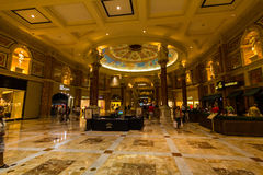 ForumShoppes inom Caesars Palace, Las Vegas Arkivfoton