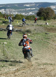 Forward!. Buggy and enduro competition Stone storm near Sebastopol, Sapun-mountain. First stage Stock Photography