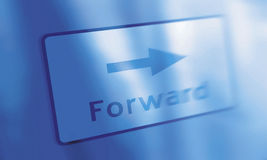 Forward. Buttom stock photography