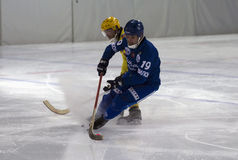 Forward in bandy Royalty Free Stock Photos