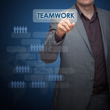 Forward Business Planning Stock Image