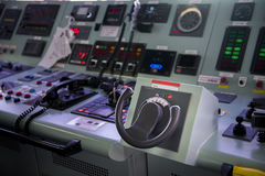 Forward console in Ship tanker. Forward console in Ship tanker Royalty Free Stock Photo