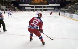 Forward of CSKA Sergey SHIROKOV 52 Stock Image