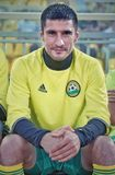 Forward fc kuban Spartak Gogniev close up before the match against fc shinnik stock images