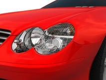 Forward Headlight. Three-dimensional model of a forward headlight of the car Stock Illustration