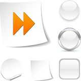 Forward  icon. Stock Photography
