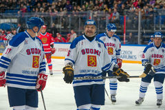 Forward the National Team Finland Esa Tikkanen (5) Royalty Free Stock Image