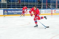 Forward the Russian National Team Pavel Bure (10) Stock Photos