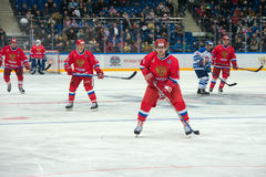 Forward the Russian National Team Pavel Bure (10) Stock Image