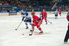Forward the Russian National Team Pavel Bure (10) Stock Images
