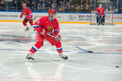 Forward the Russian National Team Pavel Bure (10) Royalty Free Stock Images
