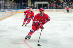 Forward the Russian National Team Valery Kamensky (13) Stock Photo