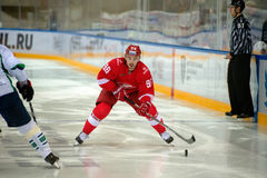 Forward Sergei Shmelev (96) Stock Photos
