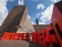 Forward at Tate Modern Tavatnik Building in London Stock Photo