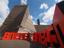 Forward at Tate Modern Tavatnik Building in London Stock Images