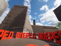 Forward at Tate Modern Tavatnik Building in London Royalty Free Stock Photography