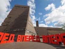 Forward at Tate Modern Tavatnik Building in London Royalty Free Stock Photo